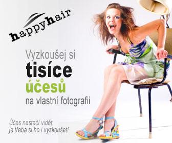 Účesy HappyHair - virtuální kadeřník - tvé vlasy 1000x jinak!